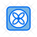 Cooling Fan Air Conditioner Icon