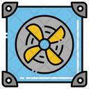 Cooling System Cpu Cooling Fan Cpu Cooling System Icon