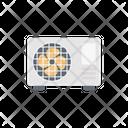 Exhaust Coolingfan Ventilator Icon
