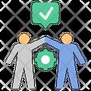 Peace Cooperate Team Icon