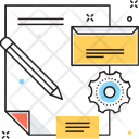 Cooperate Design Work Icon