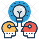 Idea Sharing Development Icon