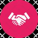 Cooperation Education Shake Icon