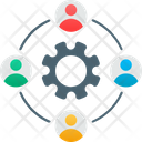 Collaboration Cooperation Teamwork Icon