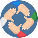 Collaboration Togetherness Teamwork Icon