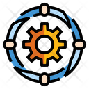 Team Group Cooperation Icon