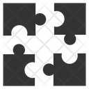 Cooperation Group Puzzle Icon