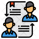 Cooperation Businessman Contract Icon