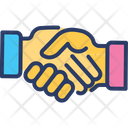 Cooperation Deal Handshake Icon