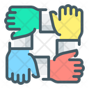Cooperation Hands Partnership Icon