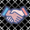 Handshake Partnership Congratulation Icon