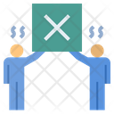 Cooperation Unity Conflict Icon