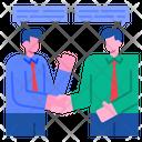 Cooperation Agreement Partnership Icon