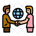 Cooperation Deal Business Deal Partner Icon