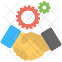 Cooperation Deal Icon