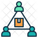 Cooperative export Icon