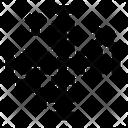 Coordinate Line Icon
