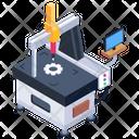 Cmm Coordinate Measuring Machine Measuring Machine Icon