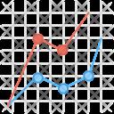 Sales Graph Coordinate Icon