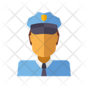 Cop Officer Police Icon