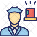 Cop Police Agent Police Employee Icon