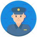 Policeman Police Officer Constable Icon