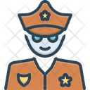 Cop Policeman Peeler Icon