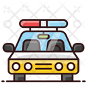 Cop Car Police Car Sedan Icon