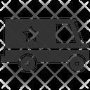 Cop Truck Icon