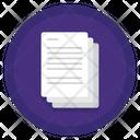 Copier Paper Icon