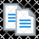 Clone Copy Document Icon