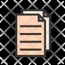 Copy File Paper Icon