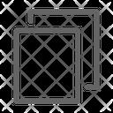 Copy Duplicate Cut Icon
