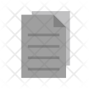 Copy Paper Document Icon