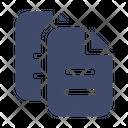 Copy Document Duplicate Icon