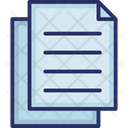 Copy Documents Files Icon