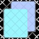 Copy Sheet Paper Icon