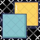 Copy Merge Background Icon