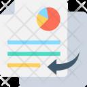Copy Report Graph Icon