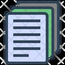 Seo Copy Documents Icon