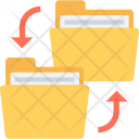 Copy Folder Backups Icon