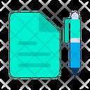 Copy Paper Sheets Icon