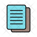 Copy Paper Communication Icon