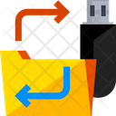 Copy To Pendrive Icon