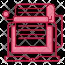 Bots Copywriting Typewriter Icon