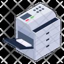 Copying Machine Copier Photocopier Icon