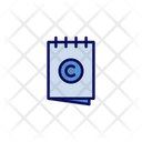 Copyright Notes Pages Icon