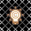 Copyright Creative Copyright Creative Ideaidea Icon