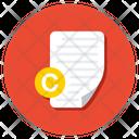 Copyright Imprint Copyright License Icon