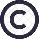 Copyright Web Software Icon